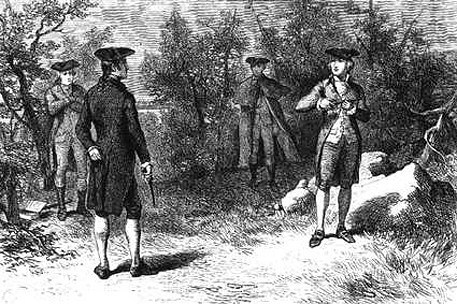 Image result for andrew jackson and charles henry dickinson