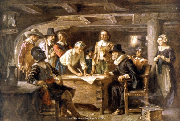 Signer of the Mayflower Compact