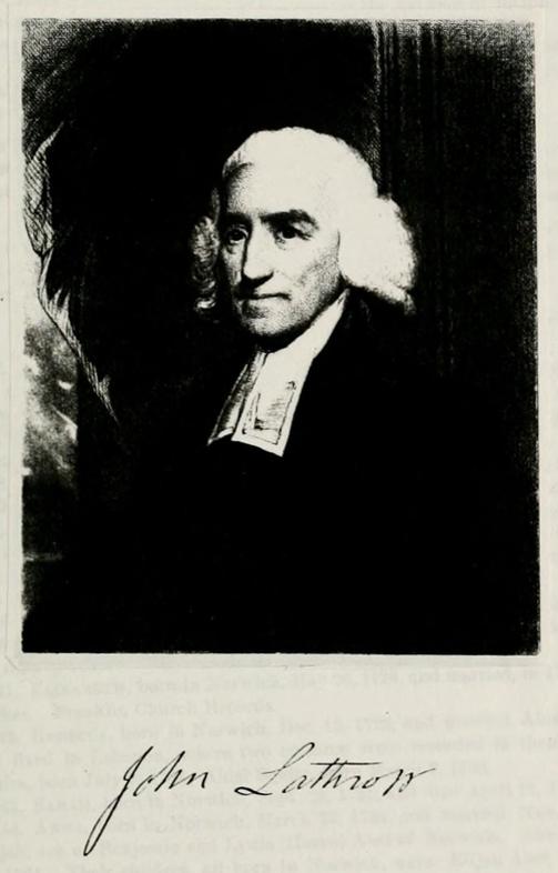 Rev John Lathrop