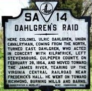 Dahlgrens Raid Sign