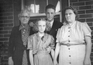Mary Susan, Norma Florence, John Austin, and Loretta Ford