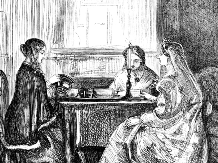 Tea Drinking, a Dangerous Female Practice