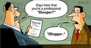 Image:  Blogger Comic