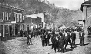 Image:  Bowlingtown Main St. 1910