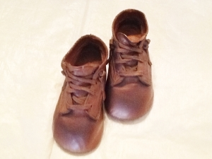 Image: Bronzed Baby Shoes