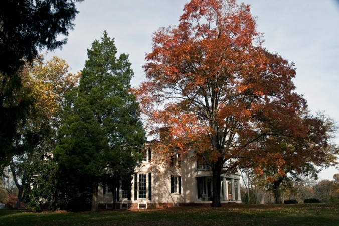 Image:  Bolling Mansion at Chellowe-Buckingham County, Va