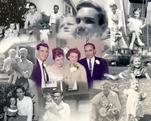 Image: Collage of Dads and Daughters