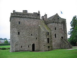 Image: Huntingtower Castle