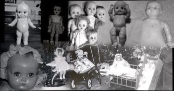 christmas doll panorama