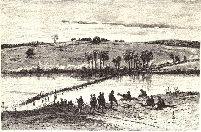 Rapidan River Crossing at Elys Ford Road, April 30, 1863