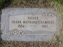 rank Maynard Chambers Gravestone