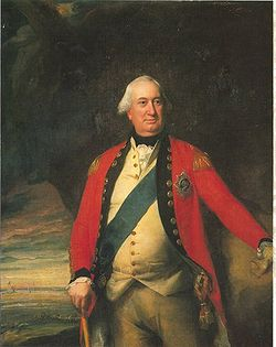 British General Charles Cornwallis