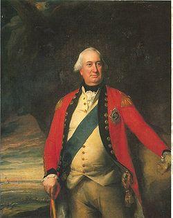 British General Charles Cornwallis