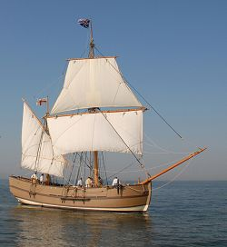 GodSpeed Replica Sail Boat