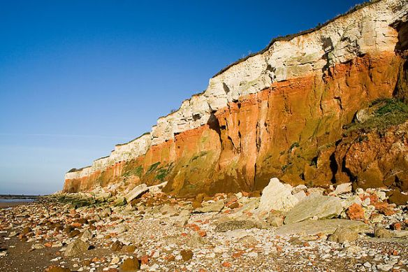 Hunstanton Cliffs, Norfolk, England