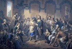 1614 Marriage of Princess Pocahontas and Captain John Rolfe