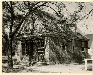 Archibald Blair's Storehouse Today, Williamsburg, VA