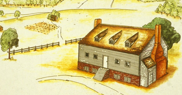 Robert Bolling's Kippax Plantation, Hopewell, VA