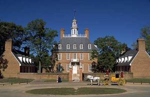 Historic Governor's Palace at Williamsburg