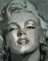 Jackie' s Sketch of Marilyn Monroe