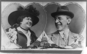 Edith Bolling Galt and Woodrow Wilson