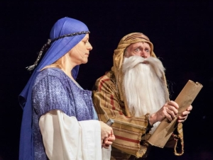 Christmas Drama Scene