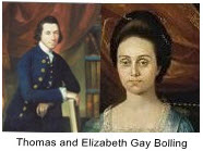 Thomas and Elizabeth Gay Bolling