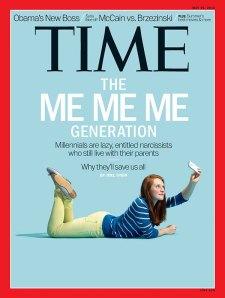 Time--me me me generation