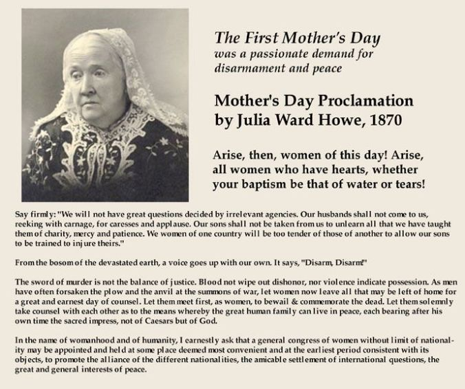 mothers-day proclamation-julia-ward-howe