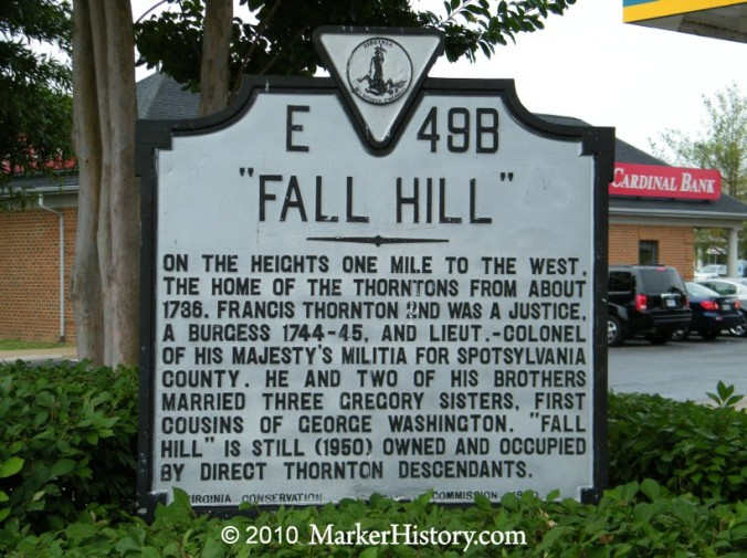 Fall Hill and the Thorntons