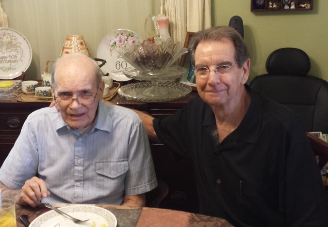Maynard Chambers and Frank Boling 2014