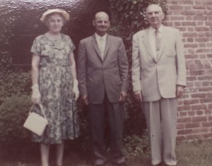 Edna and Eugene Entwistle, Upper Marlboro Mailman James Coale