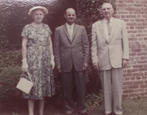 Edna and Eugene Entwistle, Upper Marlboro Mailman James Coale