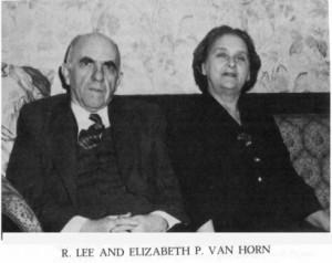R Lee Van Horn
