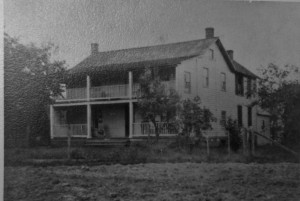 J.W. Randall's Home located adjacent to the Forestville Volunteer Fire Department