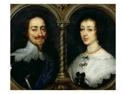 King Charles I and Queen Henrietta Maria