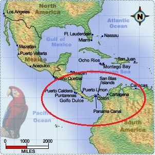 Panama Canal Location On World Map.100th Anniversary Opening Of The Panama Canal August 15 1914 Our