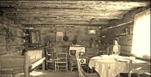 dirt floor cottage
