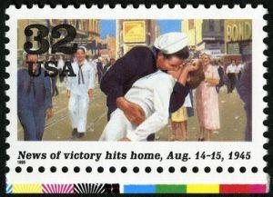 VJ Day Stamp