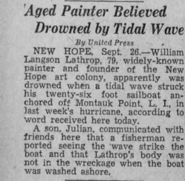 Evening News - Harrisburg, PA:  26 Sep 1938