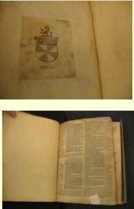 John Rolfe Family Bible