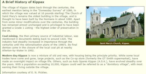 Kippax Village England
