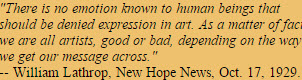 Lathrop Quote