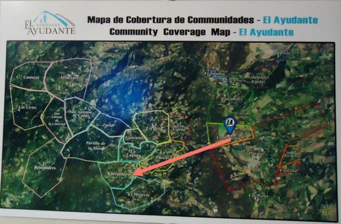 El Ayudante Community Coverage Map