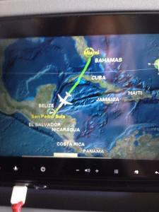 Miami to San Pedro Sula
