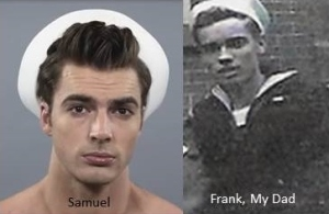 Sailors-Samuel and My Dad Frank