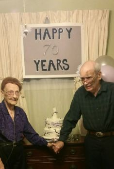 Mom and Dad 70th Anniversary