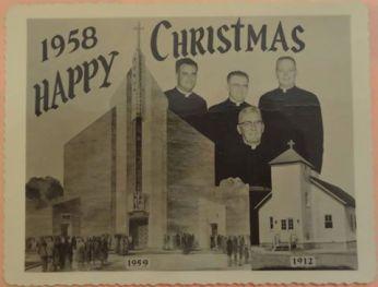 1958 Christmas Card