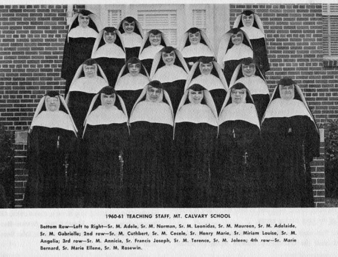 1960-61 Teaching Staff