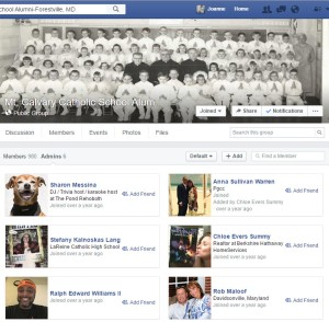 Mt Calvary Alumni FB Group